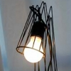 wire cage   table lamp 1998